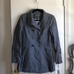 Calvin Klein double breasted military coat